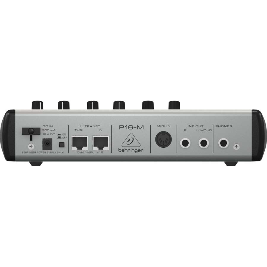 Behringer P16M  Powerplay  Rear View