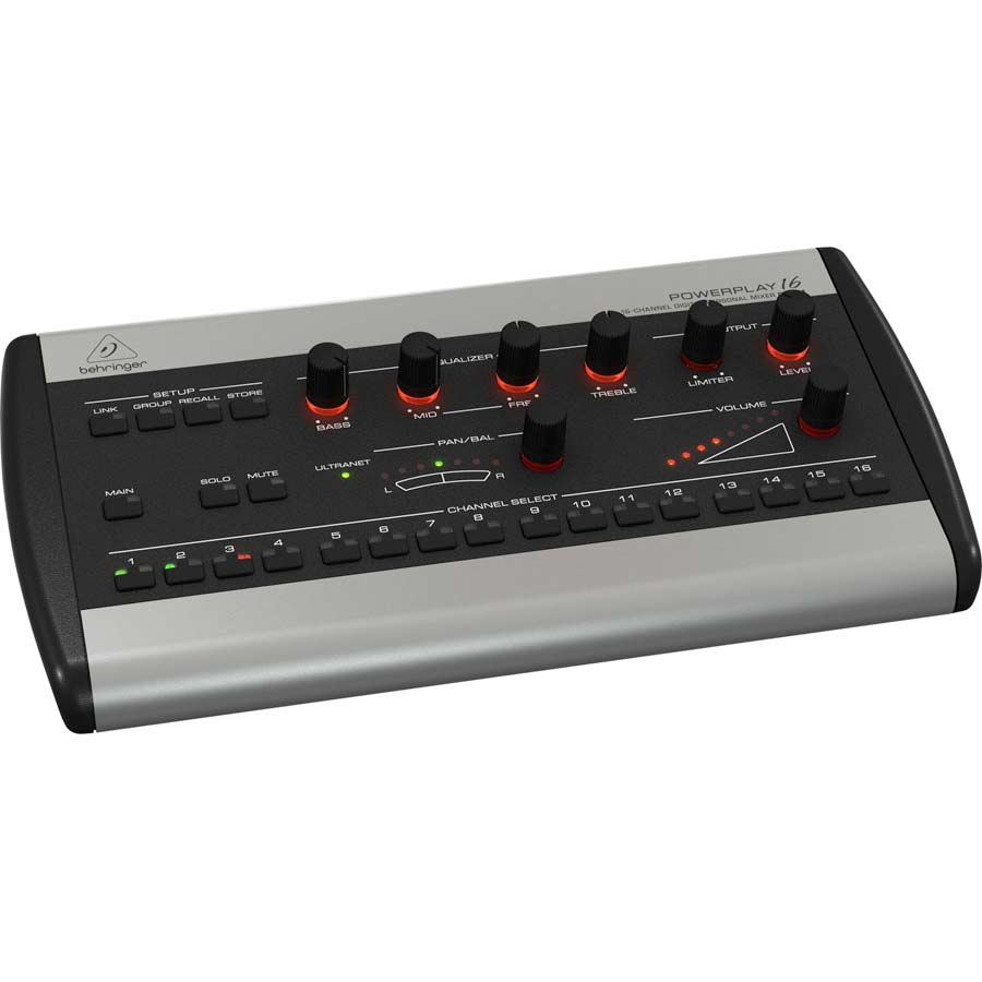 Behringer P16M  Powerplay  Angled View