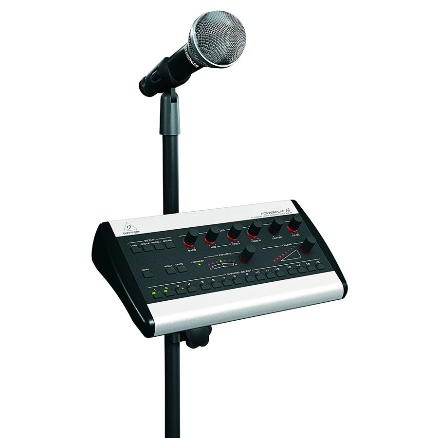 Behringer P16MB In Use