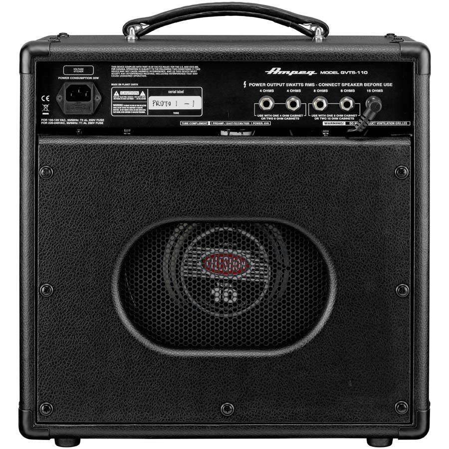 Ampeg GVT5-110 Rear View