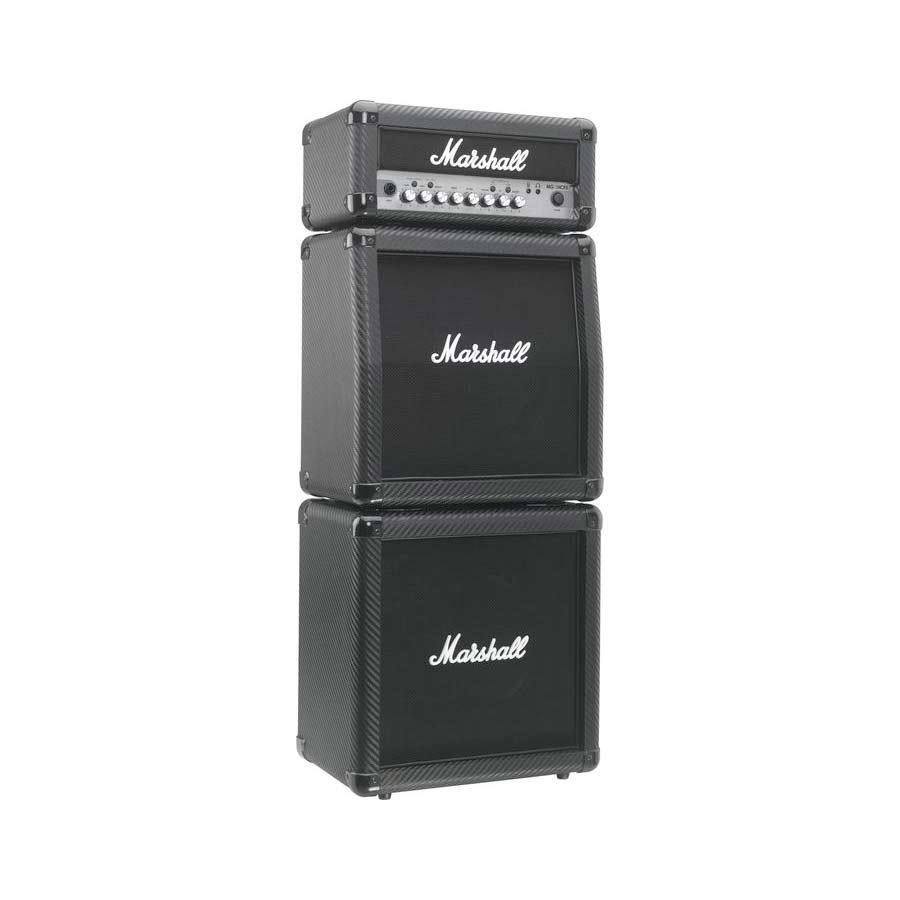 marshall mg15cfxms 15w guitar mini stack carbon fiber new ebay. Black Bedroom Furniture Sets. Home Design Ideas