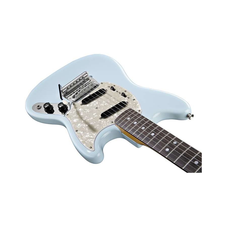 Fender 65 Mustang® Reissue Body Detail Daphne Blue