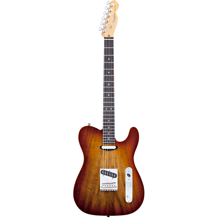 Select Carved Koa Top Telecaster® Sienna Edge Burst