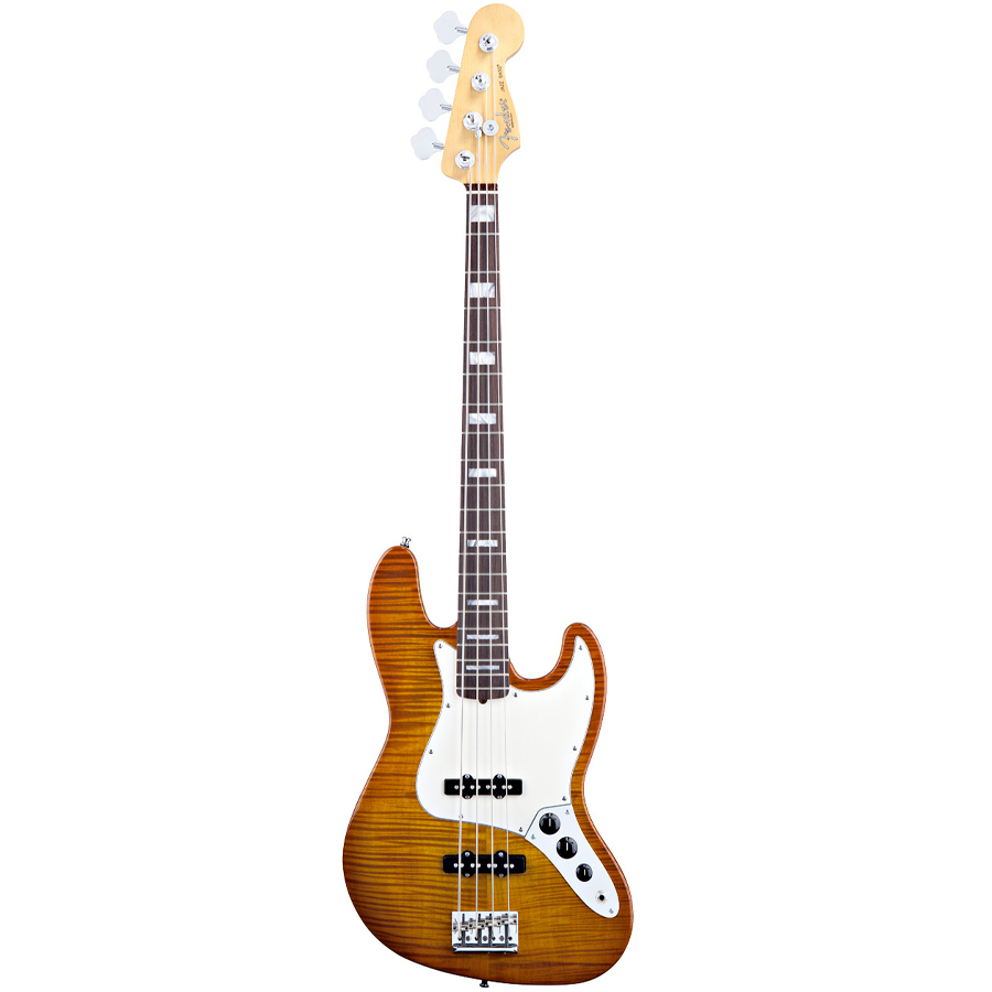 Select Jazz Bass® Amber Burst