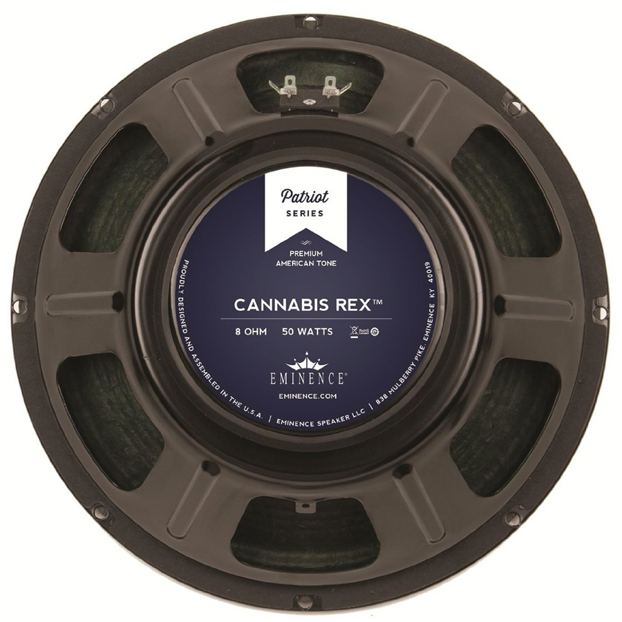 Patriot Cannabis Rex -12 Inch 8 Ohms