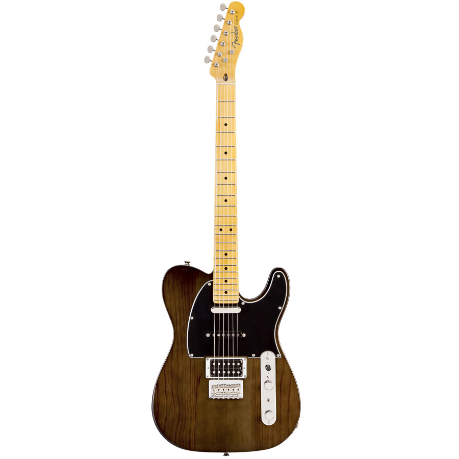 Fender Modern Player Telecaster® Plus Charcoal Transparent
