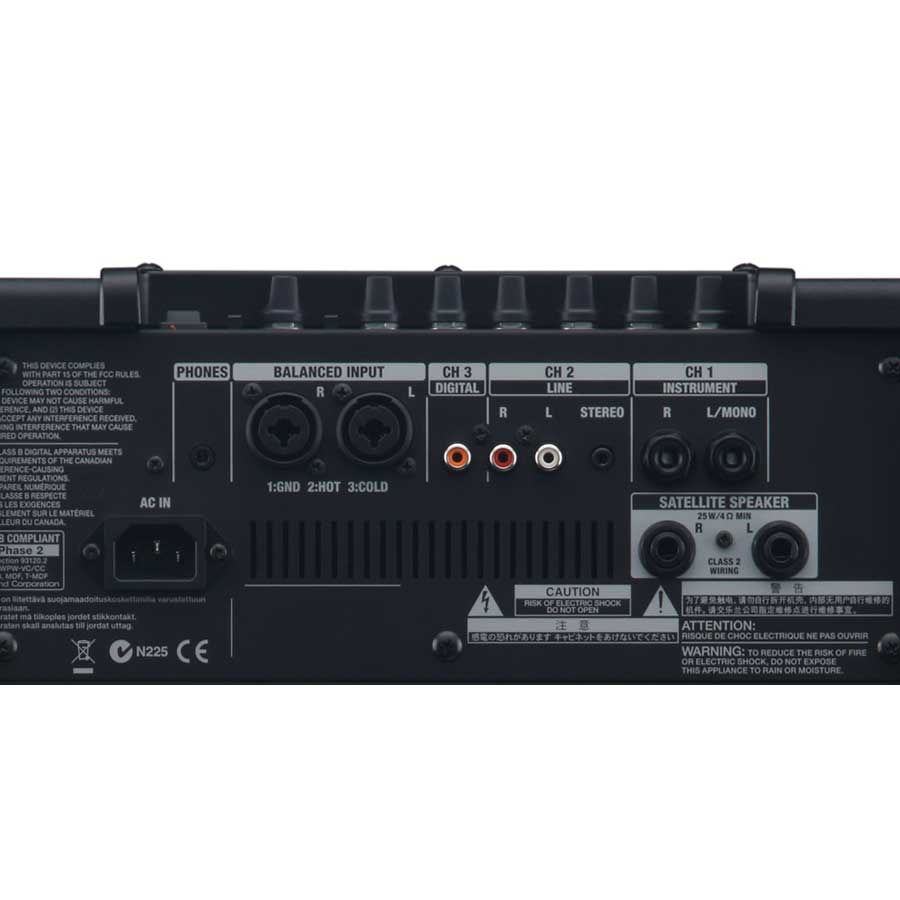 Roland CM-110 Rear View