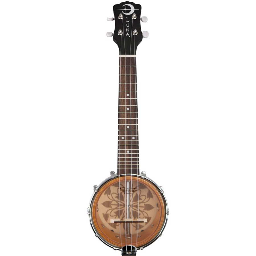 Luna Guitars B6 KALO Resonator Detail