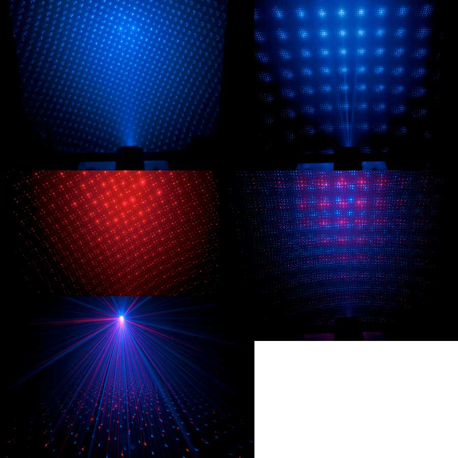 Chauvet MiNi  Laser RBX Sample