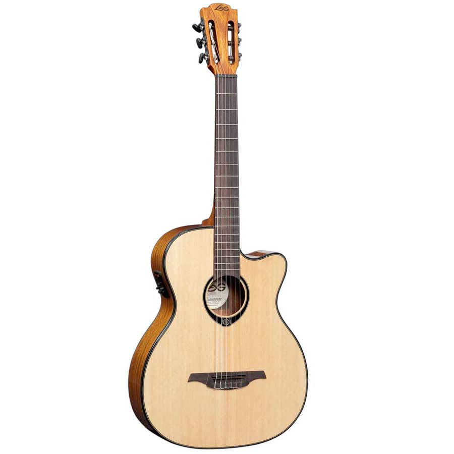 Auditorium Cutaway Nylon 6-String Acoustic-Electric Guitar
