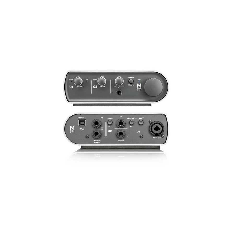 Avid Pro Tools Express Mbox MiniMbox Mini