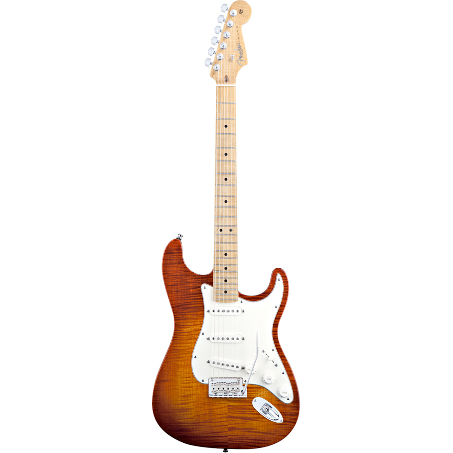 Select Stratocaster Dark Cherry Burst
