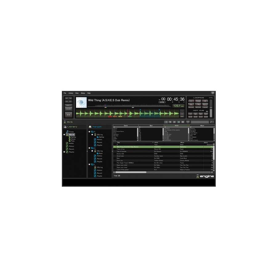 Denon DN-SC3900 Engine Software Screenshot