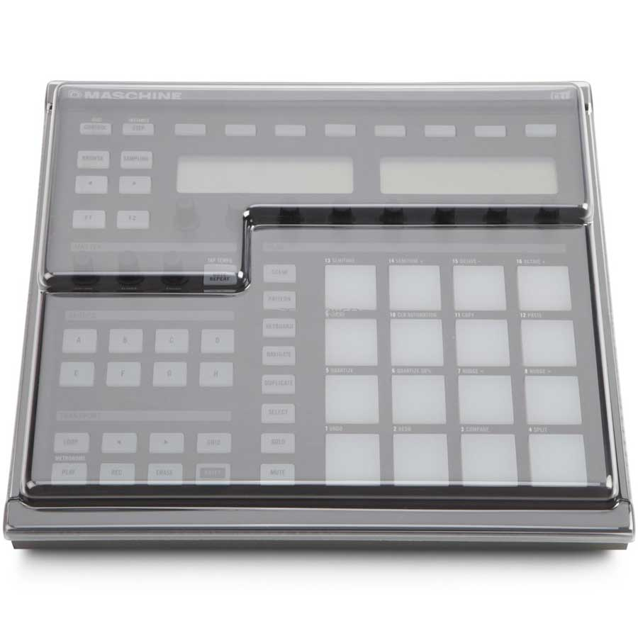 Decksaver NI Macschine Polycarbonate Cover Top View