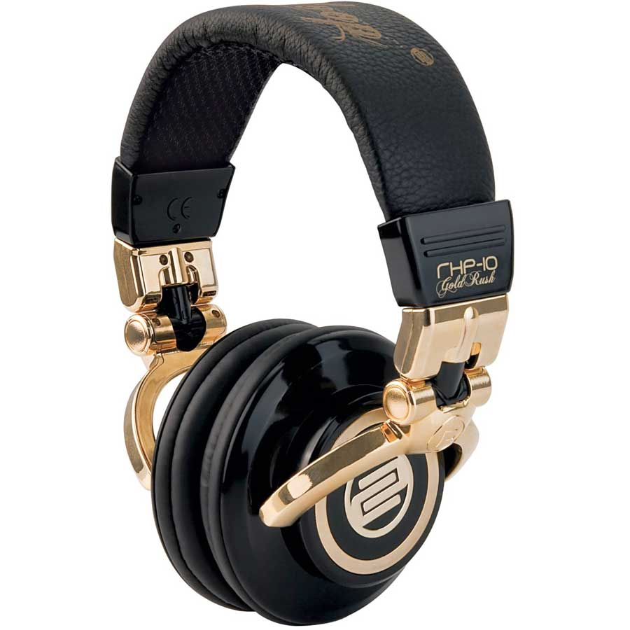 Reloop RHP-10 Large View - Gold Rush