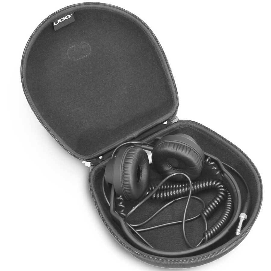 UDG Creator Large Headphone Hardcase Opened View 2