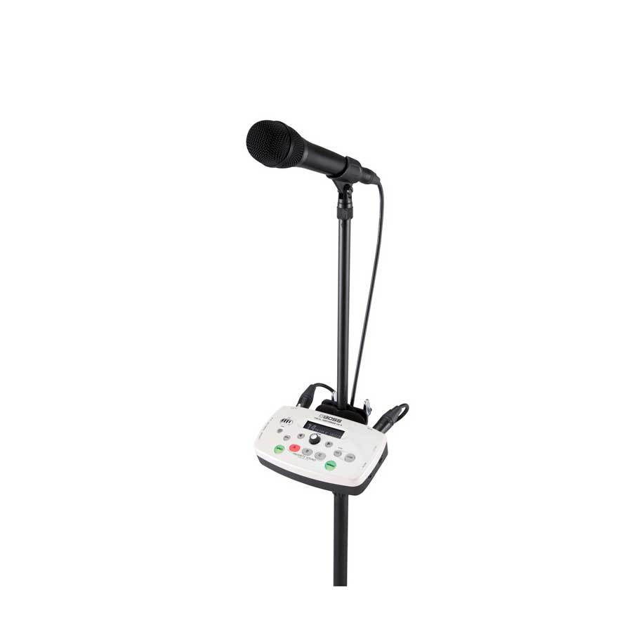 Boss VE-5 White Refurbished On Stand