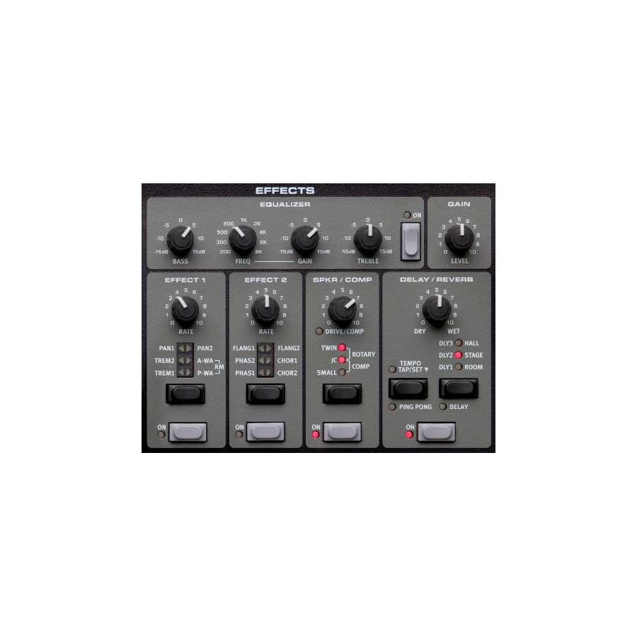 Nord Electro 4D 61 Effects Equalizer