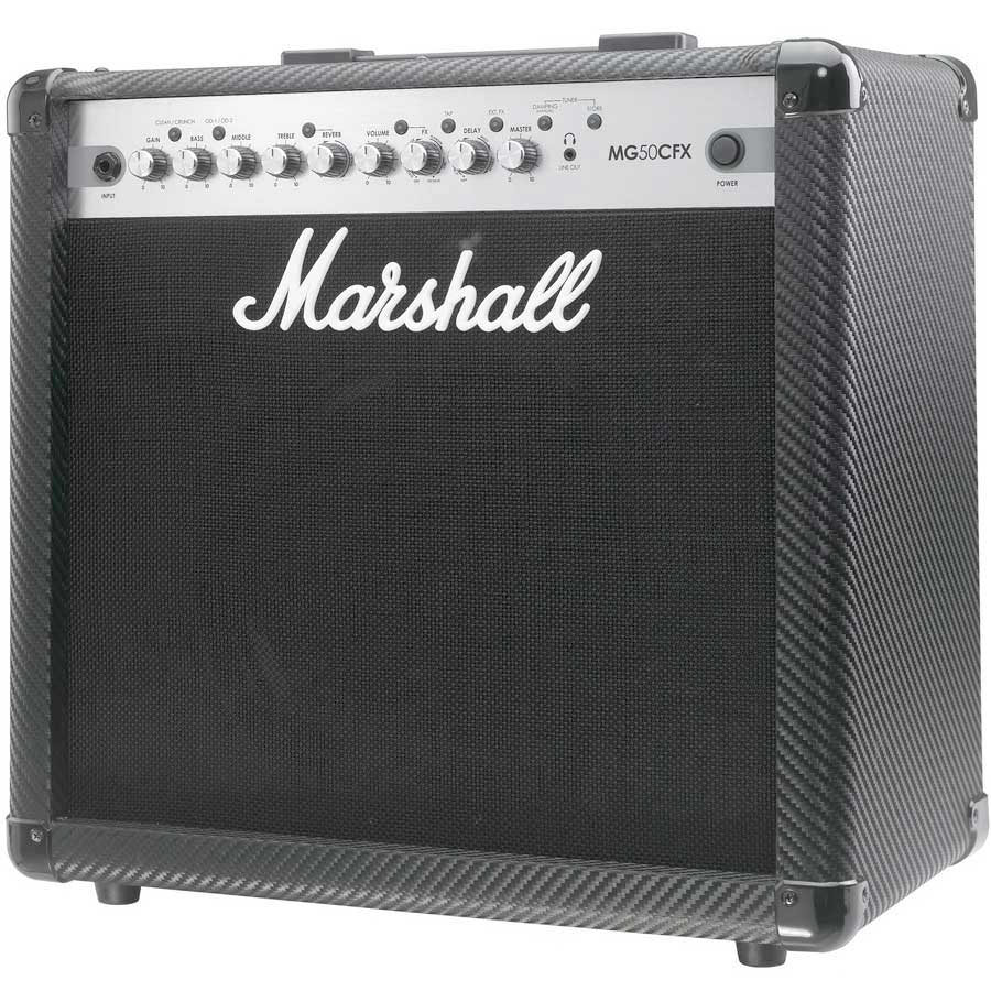 Marshall MG50CFX Angled View
