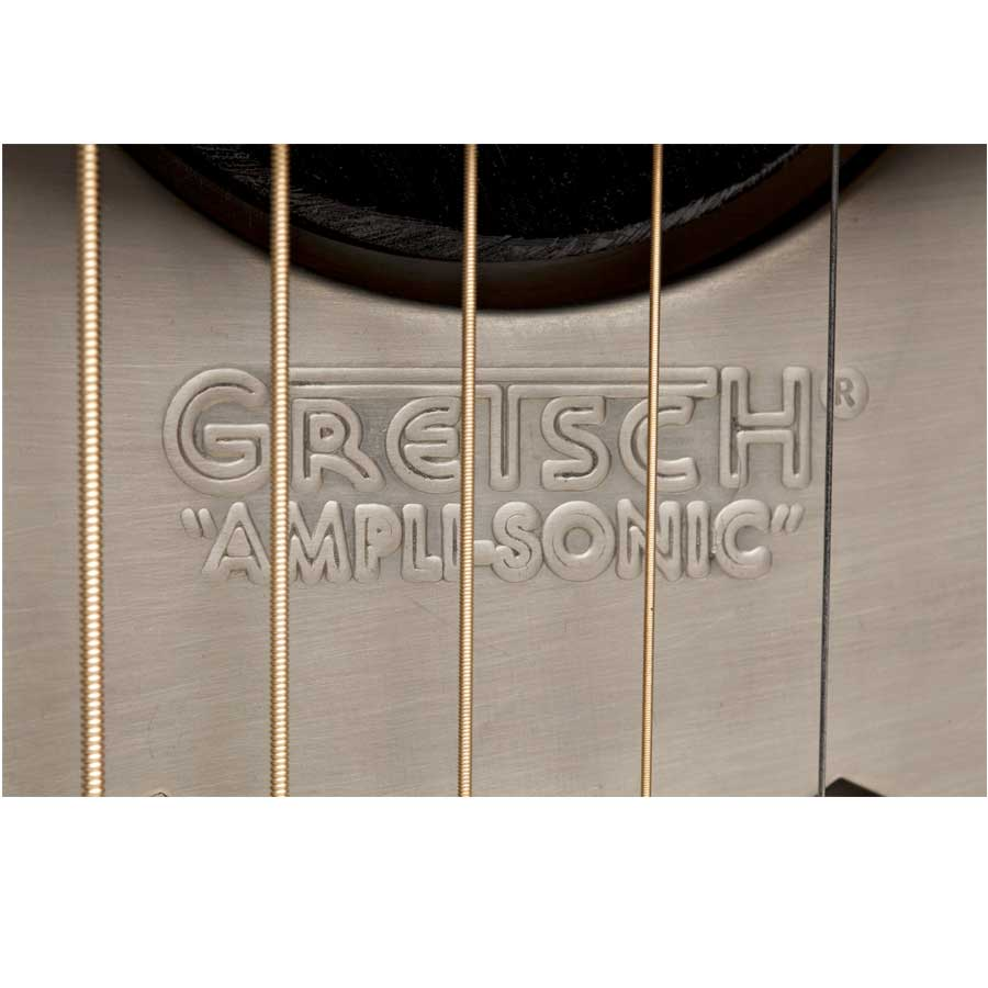 Gretsch G9201 Honey Dipper Round-Neck Resonator Detail