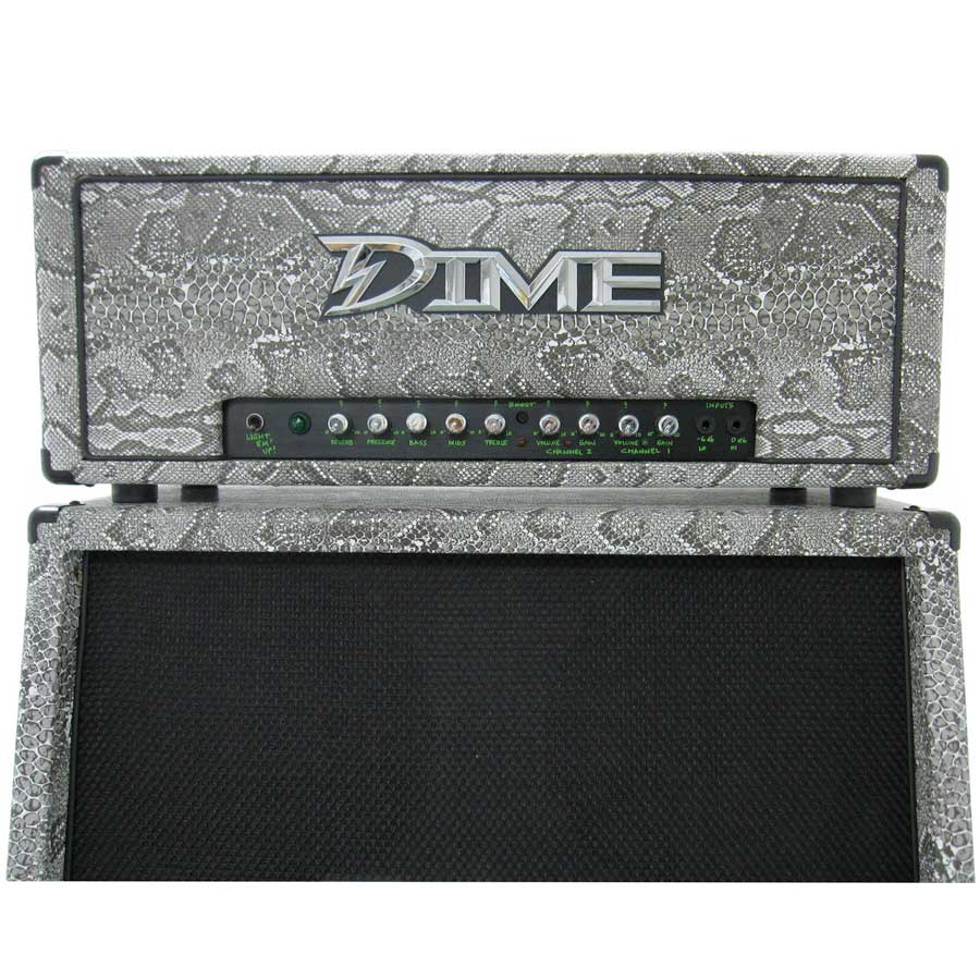 Dime Amplification *One Of A Kind* Snake Skin Stack Head