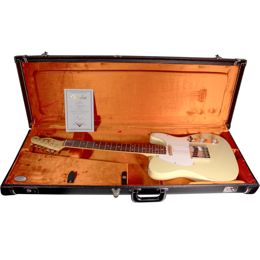 Fender Custom Shop 1967 Telecaster Relic Vintage White In Case