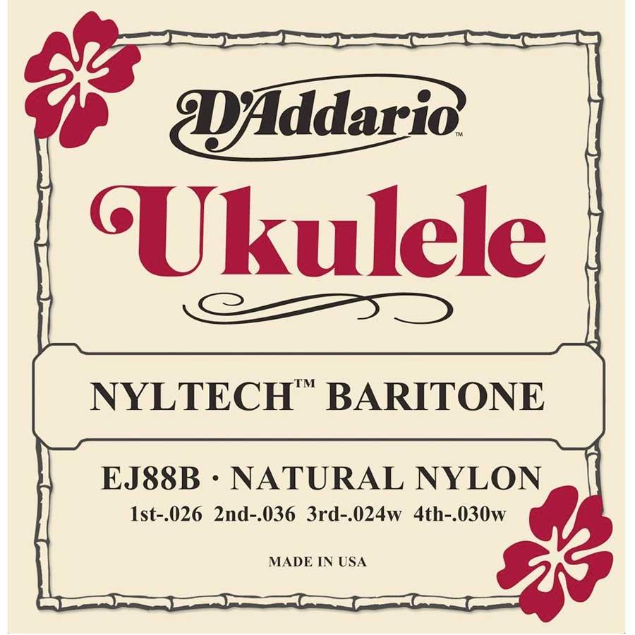 EJ88B Nyltech Ukulele Baritone Strings