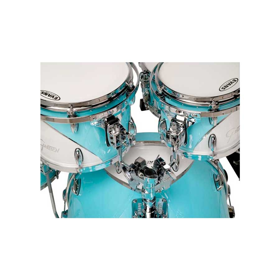 Gretsch Drums Renown 57 Bebob Motor City Blue View 2