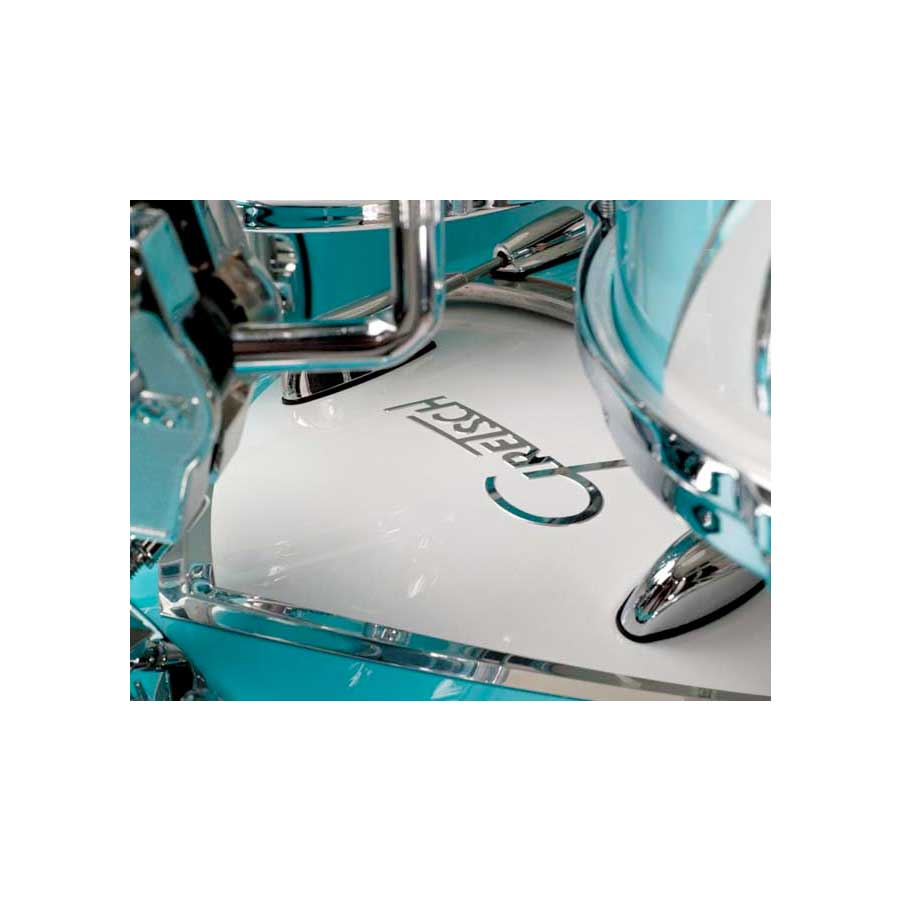 Gretsch Drums Renown 57 Bebob Motor City Blue View 3