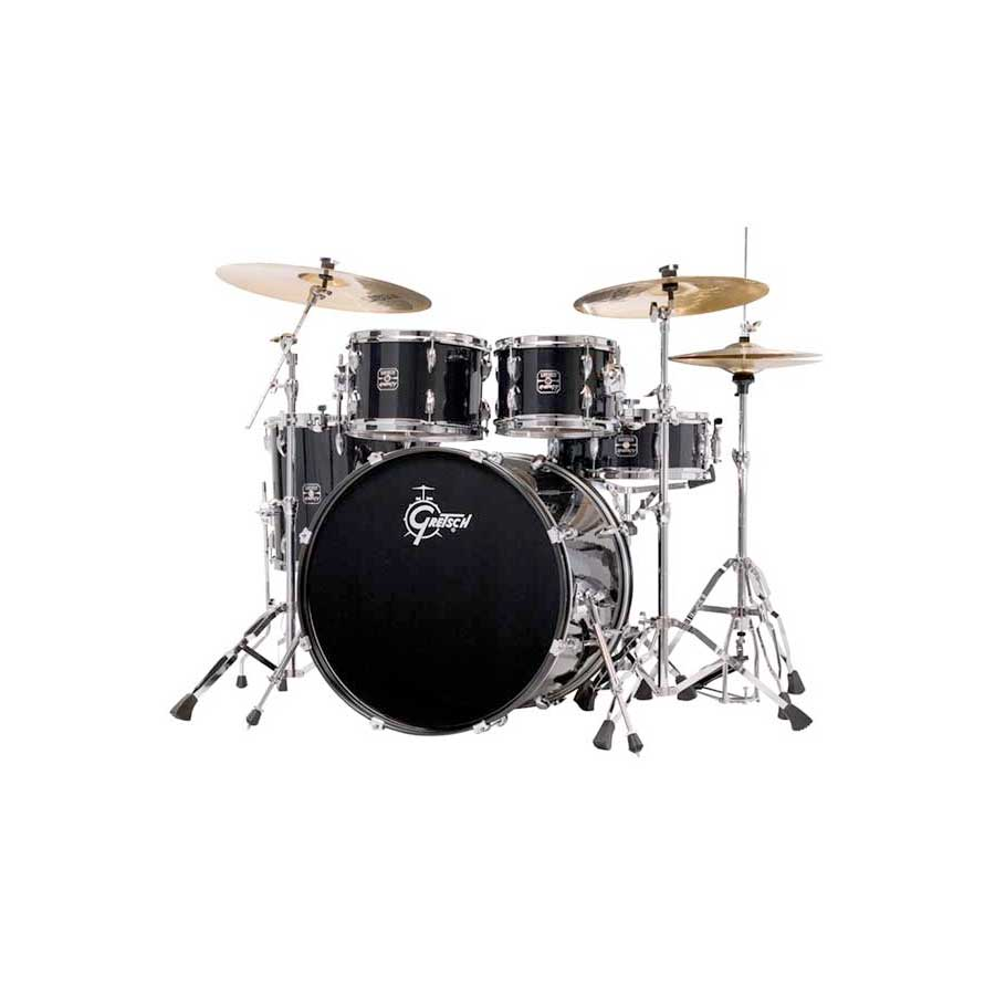 Gretsch Drums Energy Black Angled View