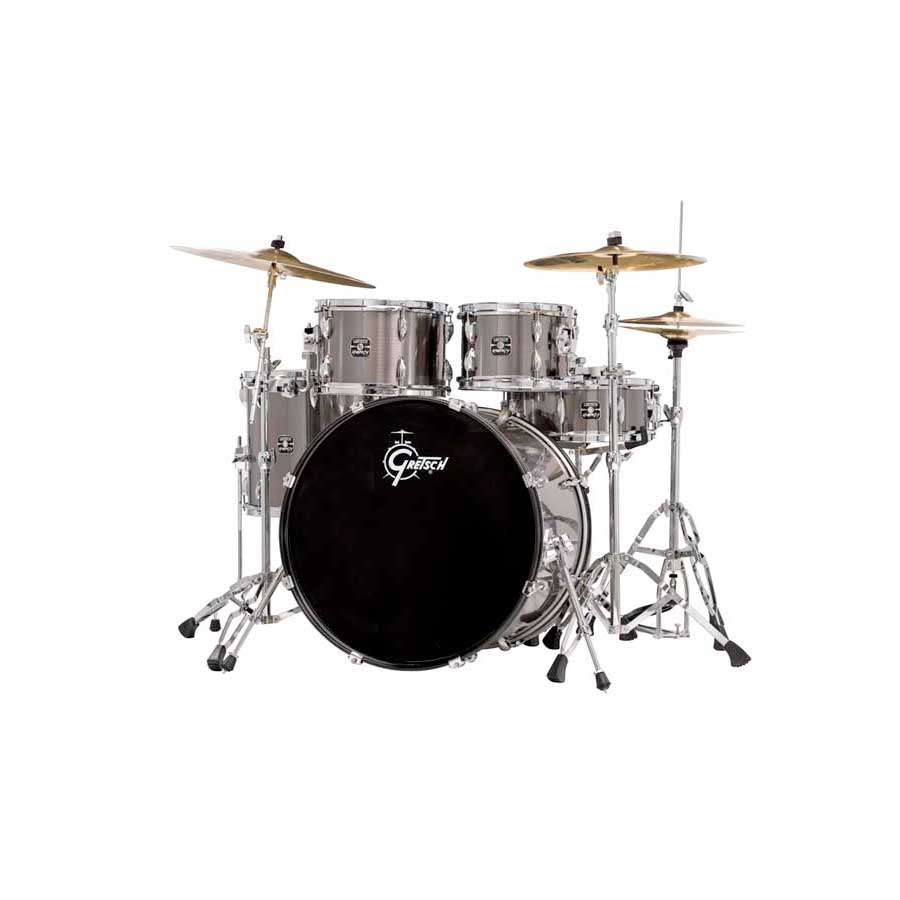 Gretsch Drums Energy Gun Steel Angled View