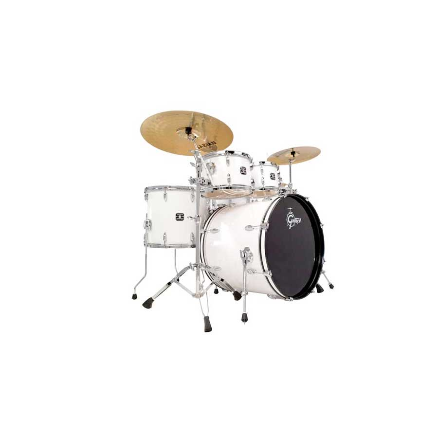 Gretsch Drums Energy White Angled View