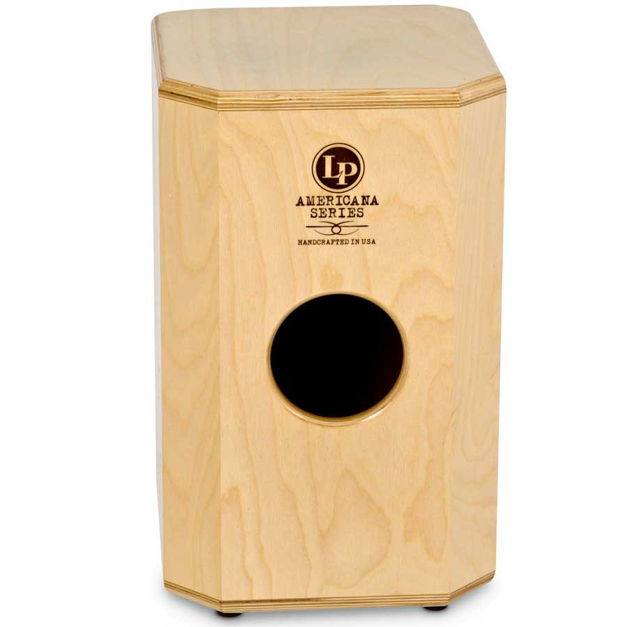 LP Americana Cajon - Snare Style Top View