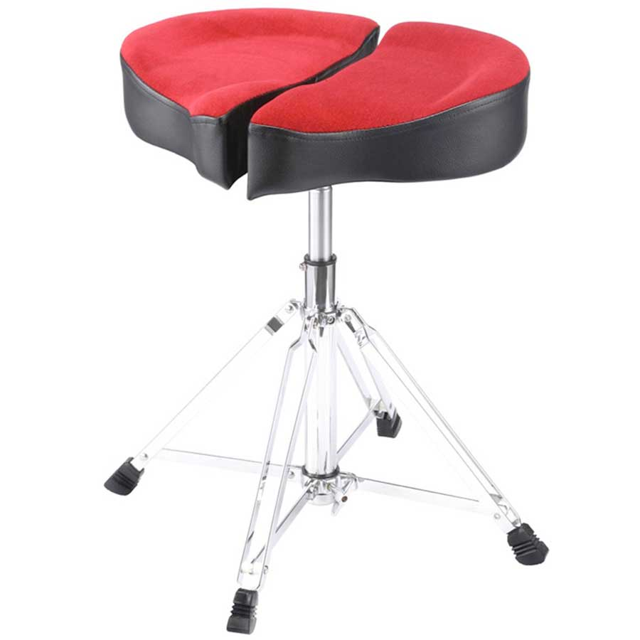 Ahead Spinal-G Drum Throne - Black Red