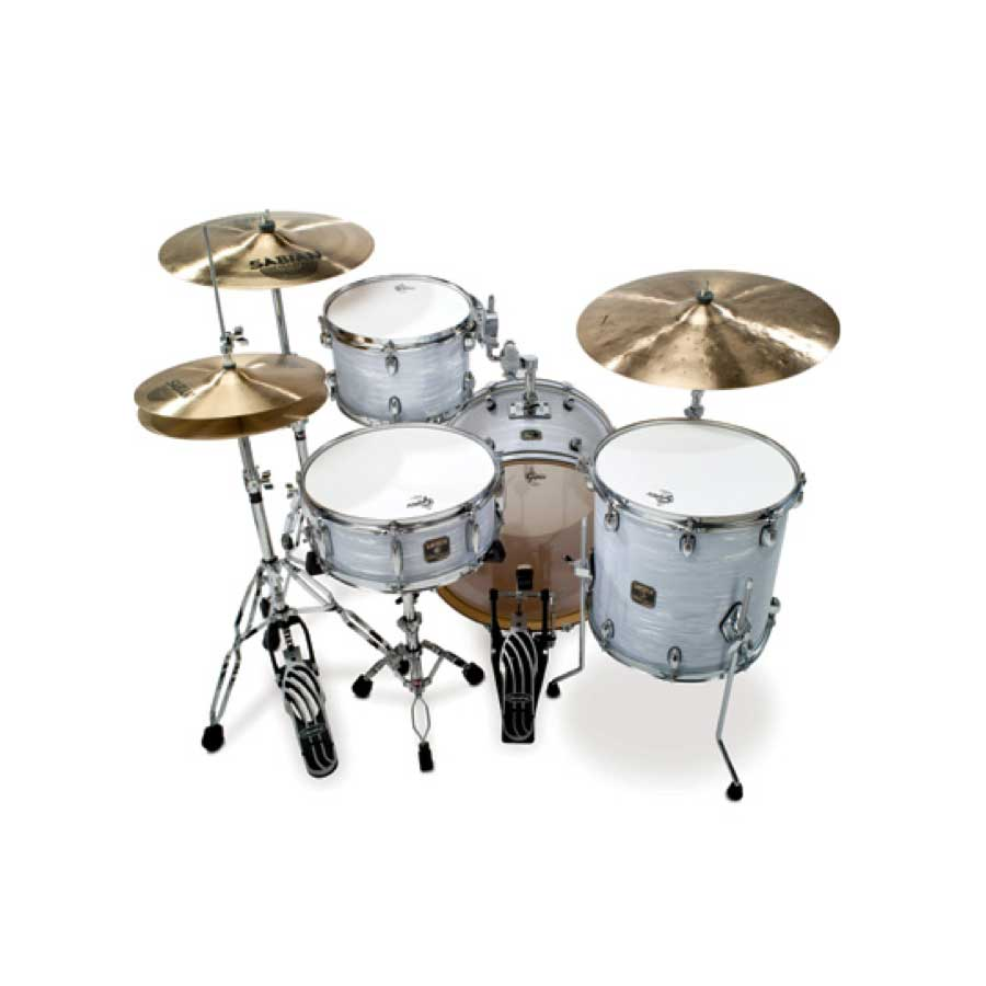 Gretsch Drums Catalina Club Jazz - Blue Silk Marine Pearl Rear View
