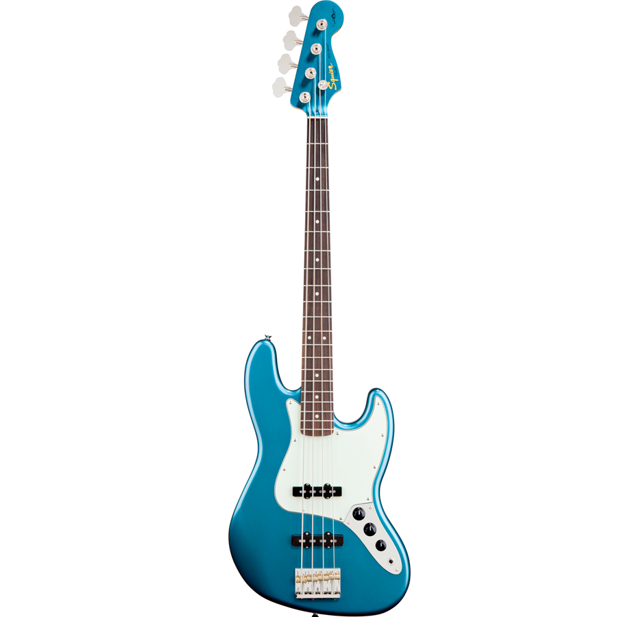 James Johnston Jazz Bass Lake Placid Blue
