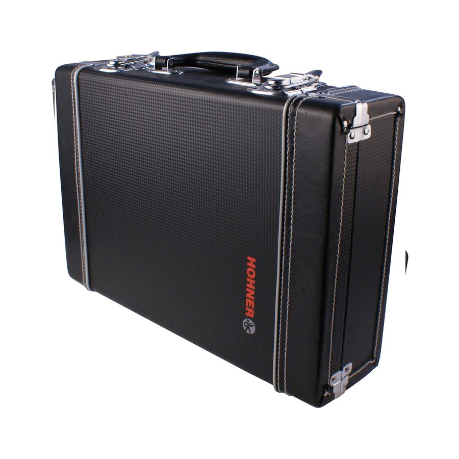 Hohner Briefcase Black Black Closed