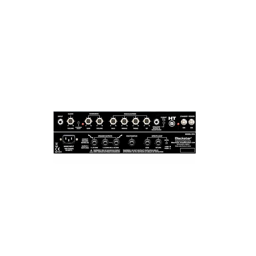 Blackstar HT-5C Combo Panels