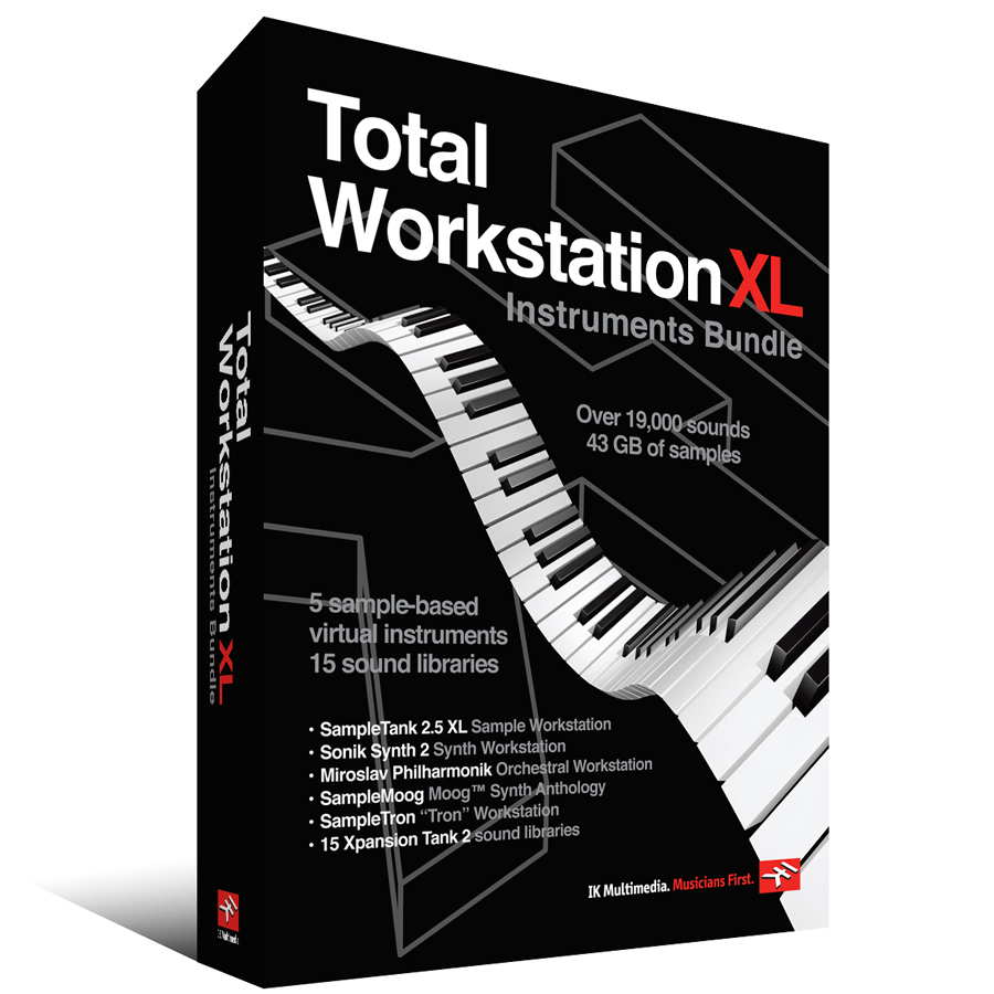Ik Multimedia Total Workstation XL View 2