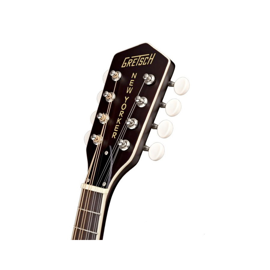 Gretsch G9320 Acoustic-Electric Mandolin Headstock