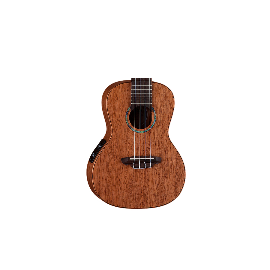 Luna Guitars Egret Concert Ukulele Body Detail