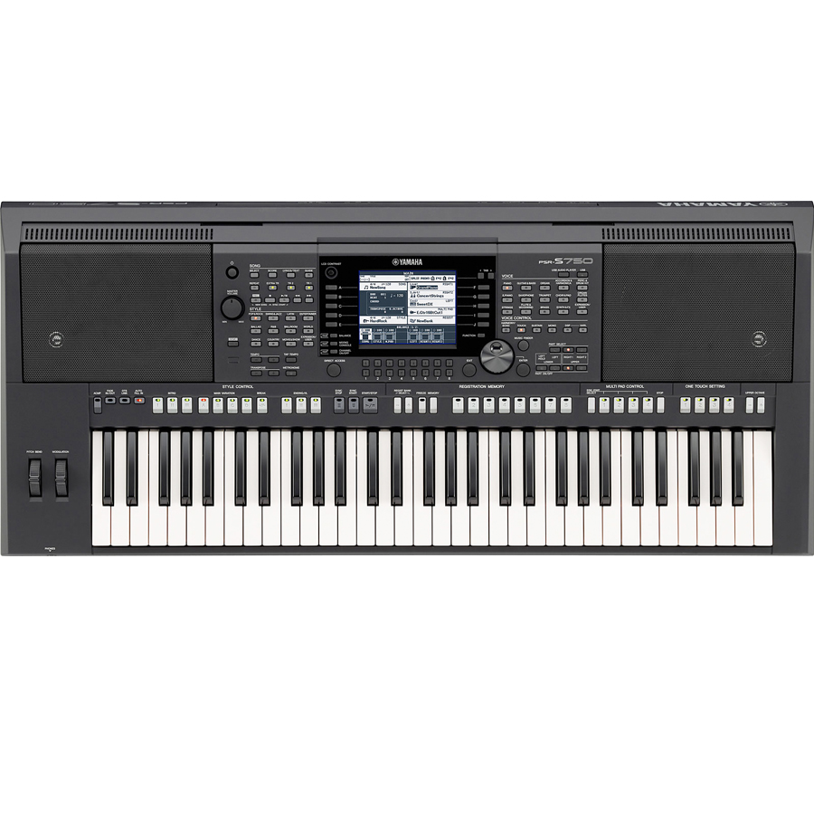Yamaha PSR-S750 Top View