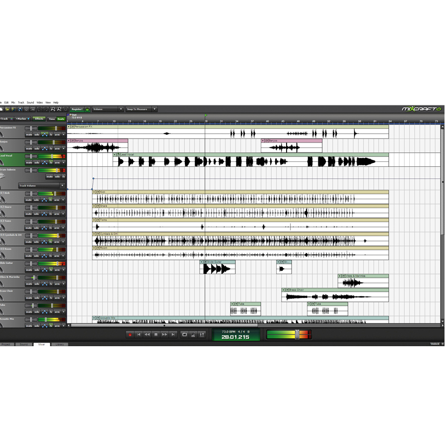 Acoustica Mixcraft 6 Screenshot 4