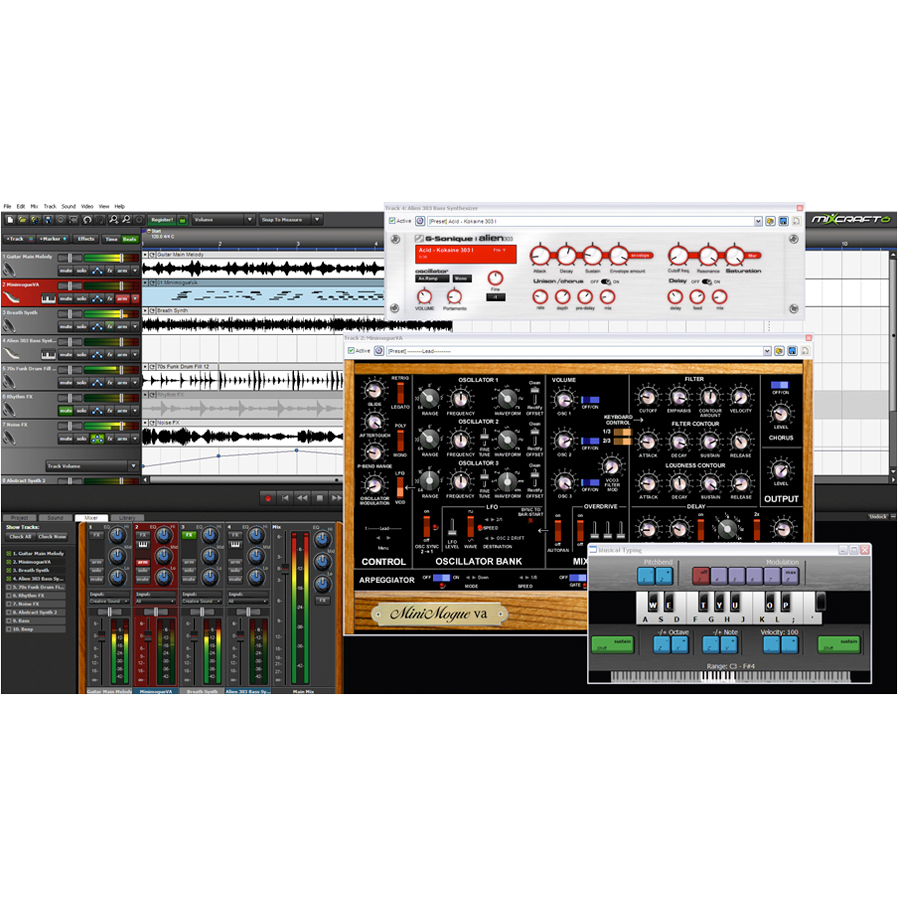 Acoustica Mixcraft 6 Screenshot 1