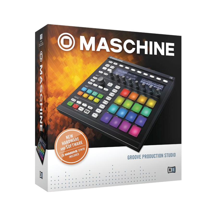 Native Instruments Maschine MK2 Black Box View