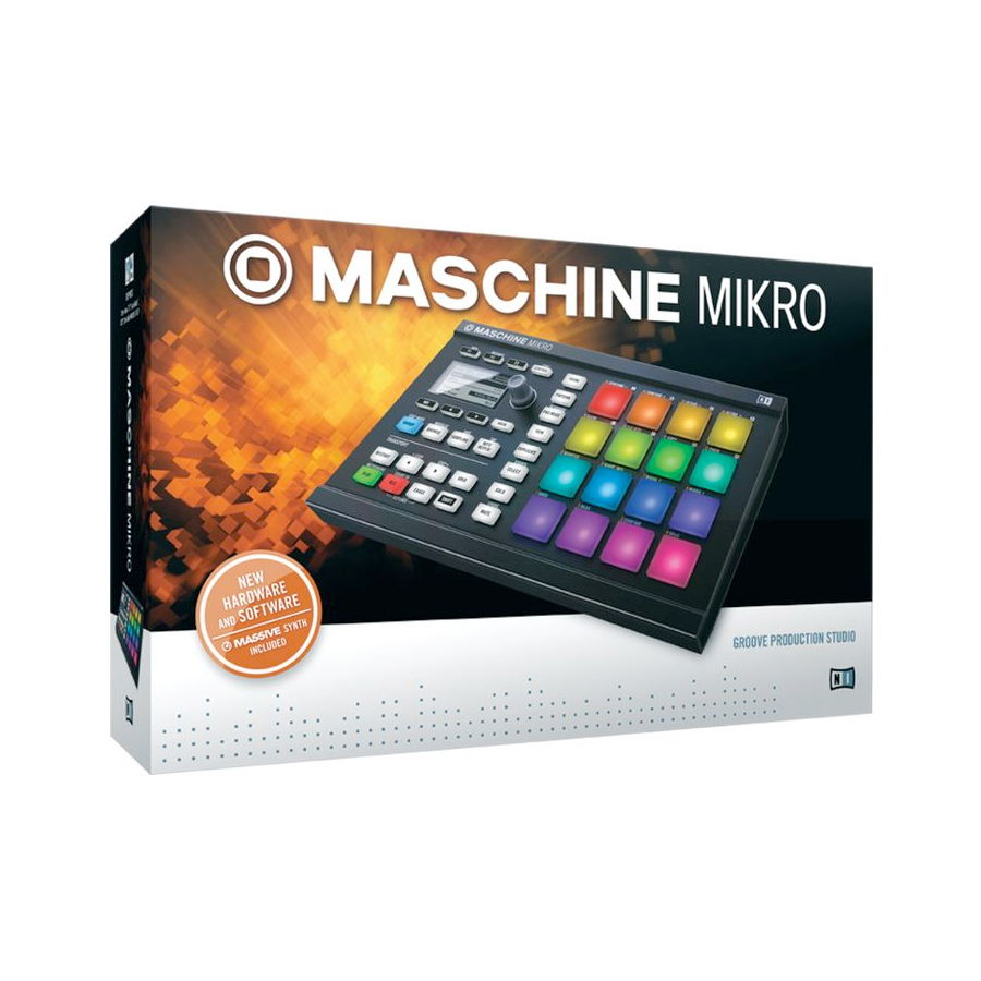 Native Instruments Maschine Mikro MK2 Box View
