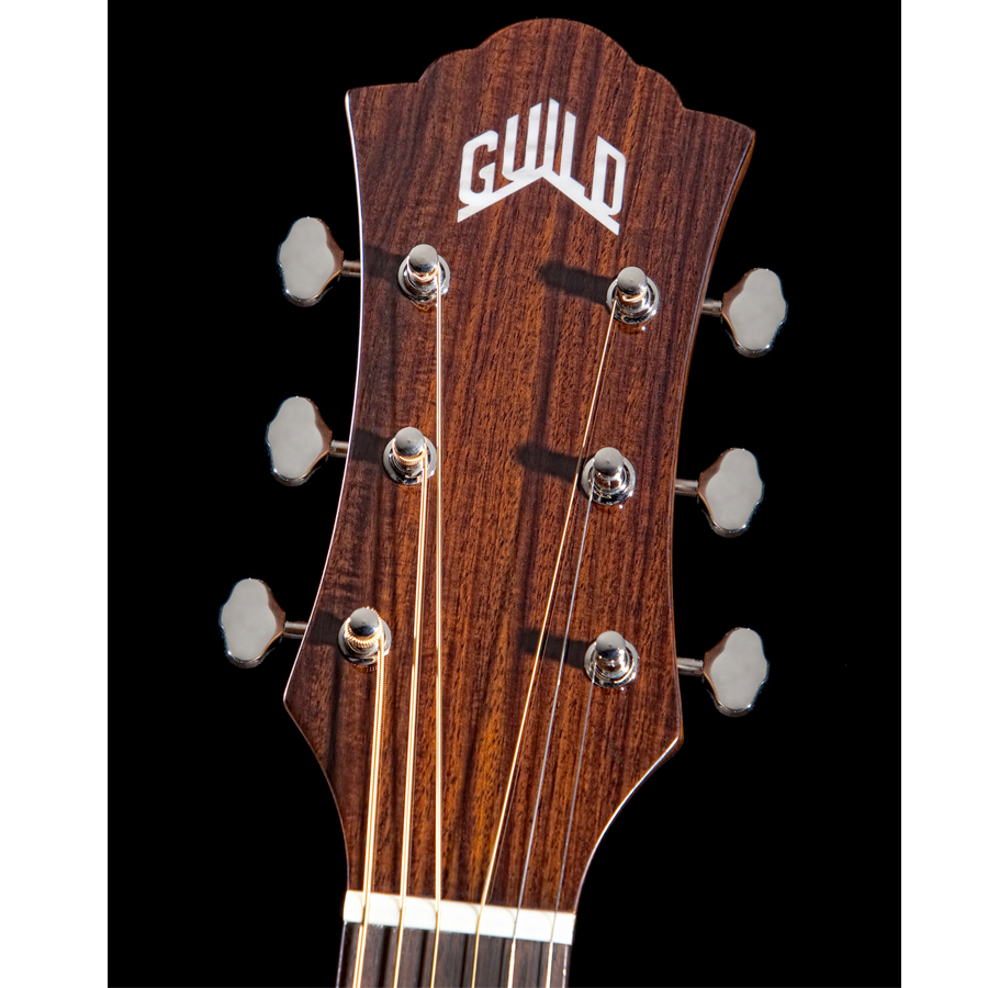 Guild F-130RCE Headstock View