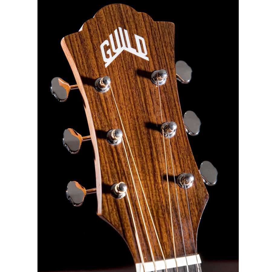 Guild F-130CE Headstock View