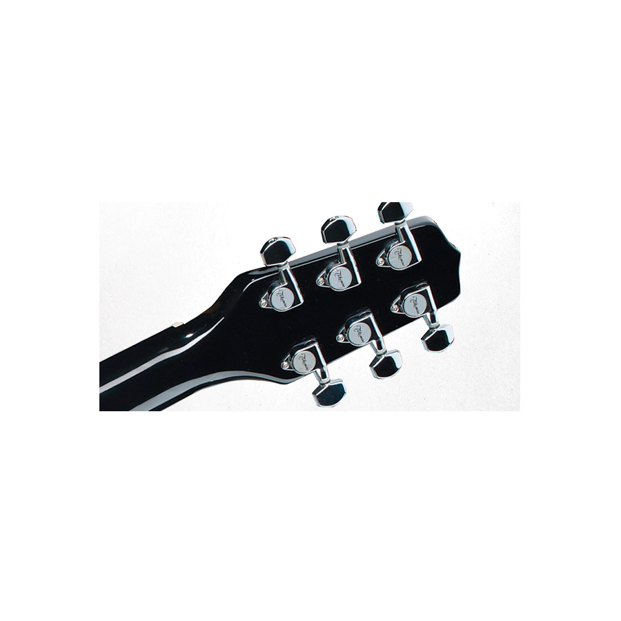 Takamine EGMINI-BK Rear Headstock Detail