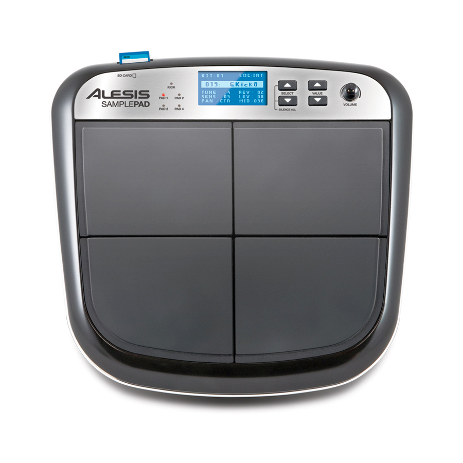 Alesis SamplePad Top View